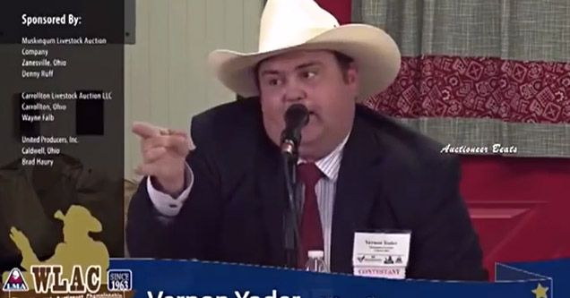 Auctioneers Over Rap Beats Are Better Than Most Rappers