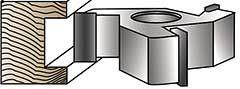Straight (rabbeting) Shaper Cutter | Shaper Cutters | Industrial