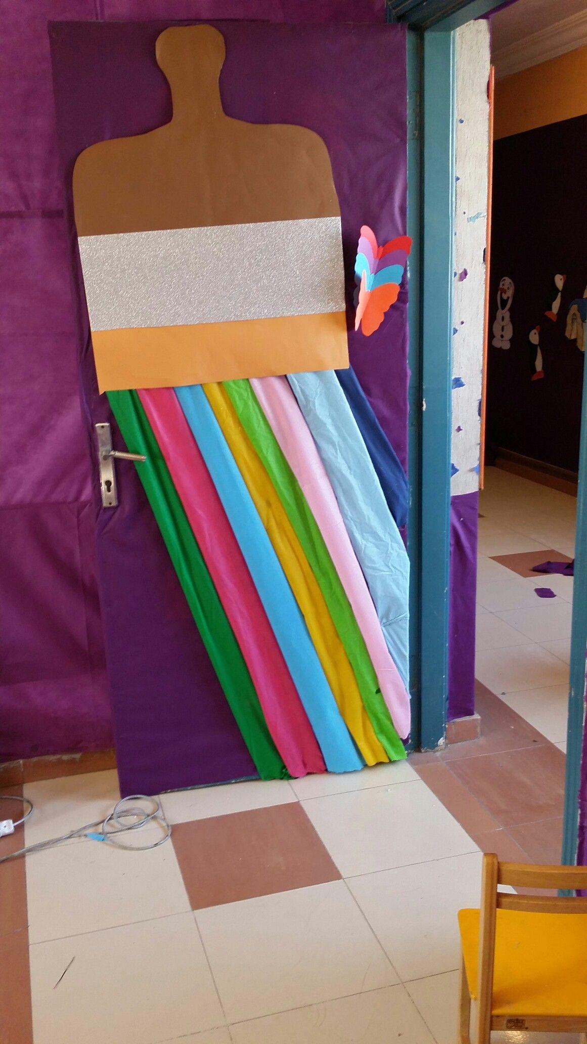 Classroom window decoration  Kg class door  class decoration  Pinterest  Class door and Class