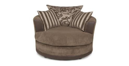 Lavish Large Swivel Chair Eternal DFS Living room Pinterest