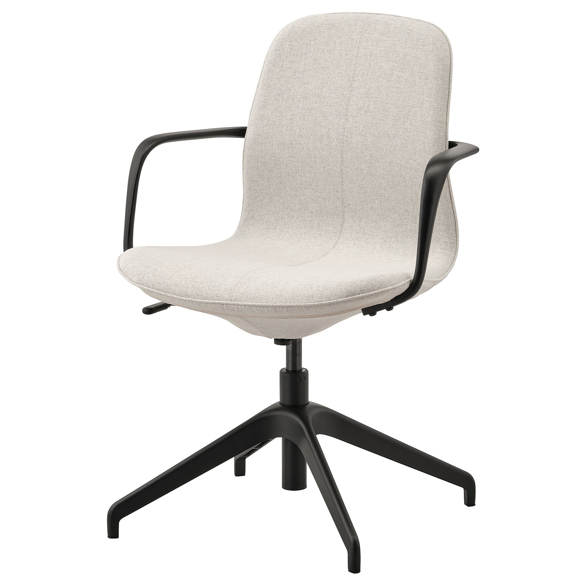 Langfjall Conference Chair With Armrests Gunnared Beige Black