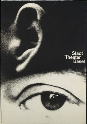 Armin Hofmann. Stadt Theater Basel. 1962