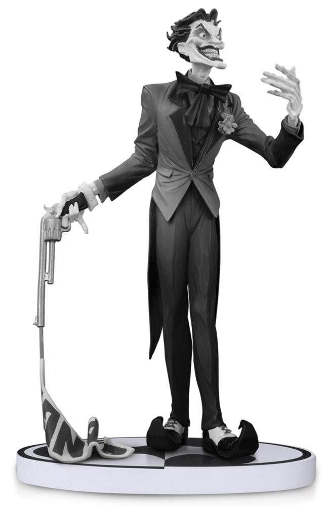 Batman Black /& White Series The Joker By Jim Lee 2nd Edition Statue DC direct