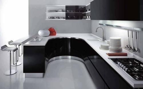 U Shaped U0026 L Shaped Modular Kitchen Design By Aamoda Kitchen Part 23