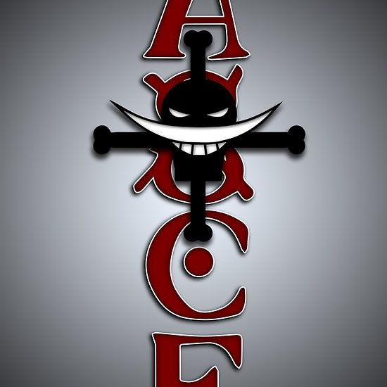 Ace Tattoo (One Piece Anime ) Available as Cards, Prints ...