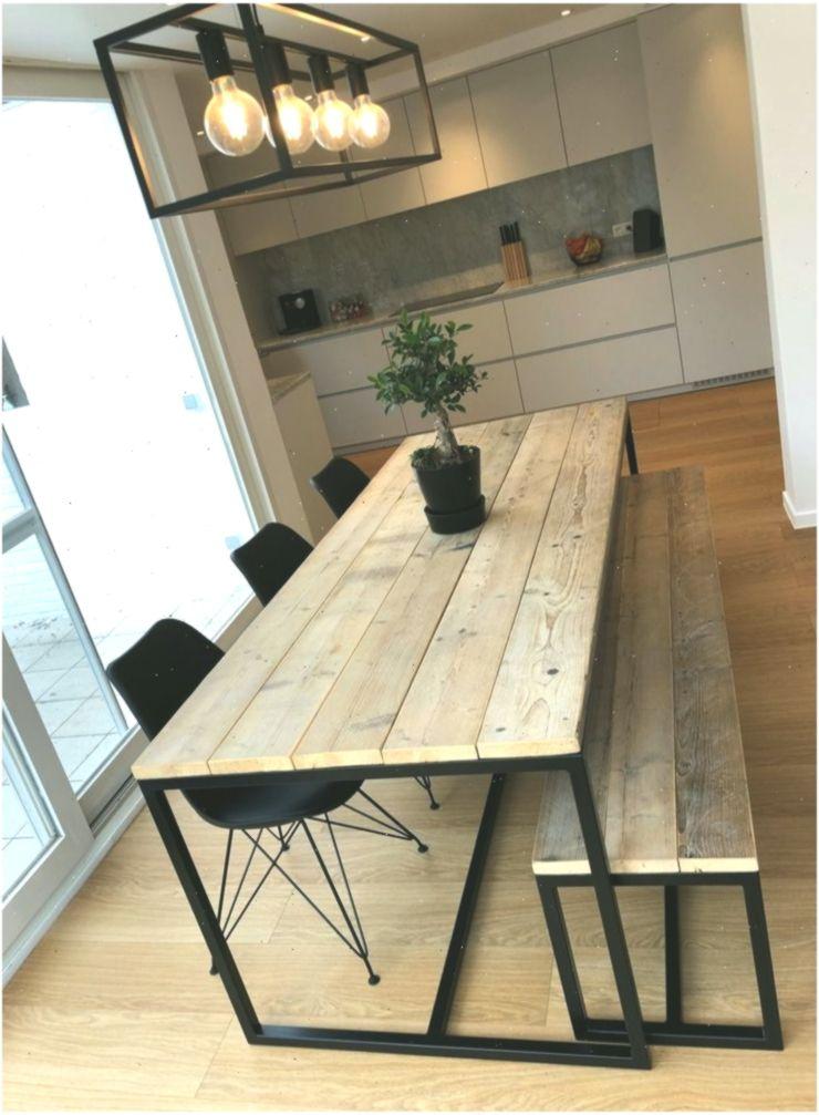 Die Schonen Tische Unserer Kunden Holztische Mit Stahlrahmen Industri Woo Holz Diy Ideen Tischdekoration Woodentabl Dining Corner Wood Table Diy Dining