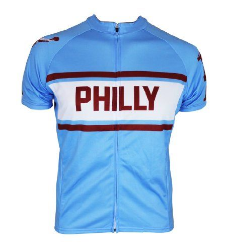f9eb099caa1 Philadelphia Philly Retro City Cycling Jersey Medium   You can get more  details by clicking on the image.