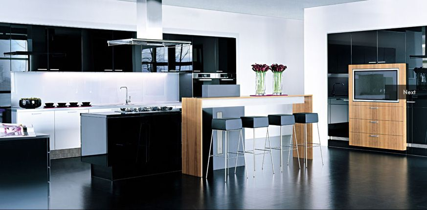 Contemporary Kitchen Styles Enchanting This Is The Type Of Spacious Set Up That My Kitchen Would Look Decorating Design