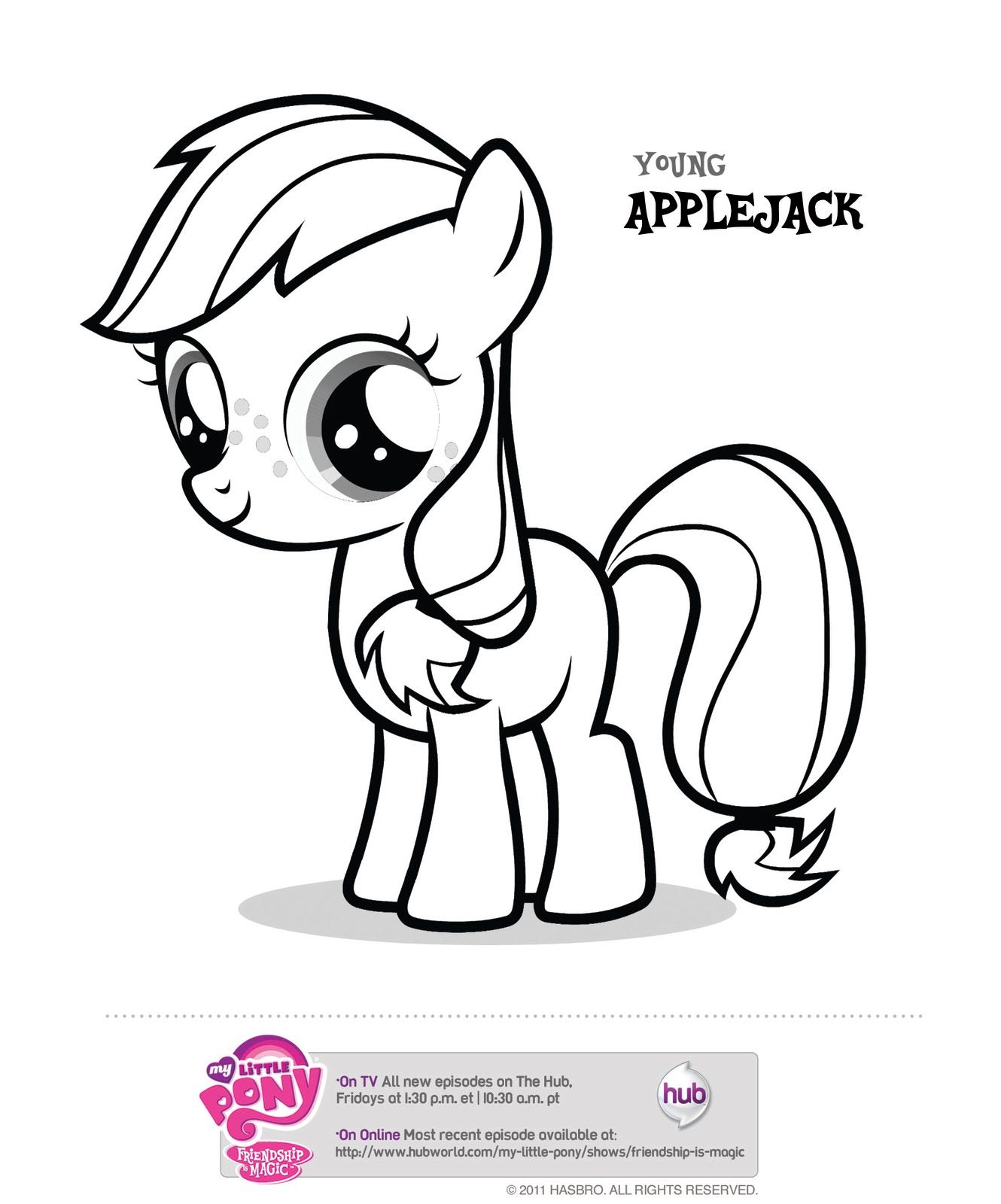 My little pony coloring pages to color online