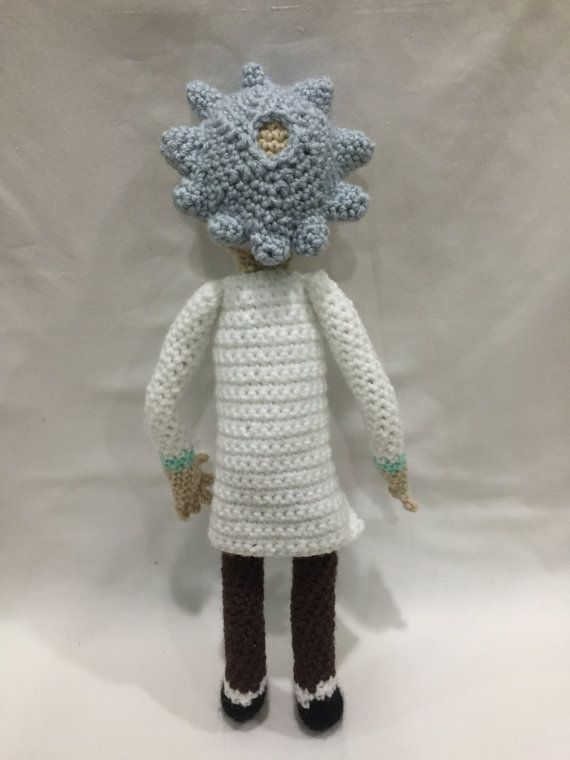 Ravelry: Rick Sanchez from Rick and Morty pattern by Tina L. crafts | 760x570