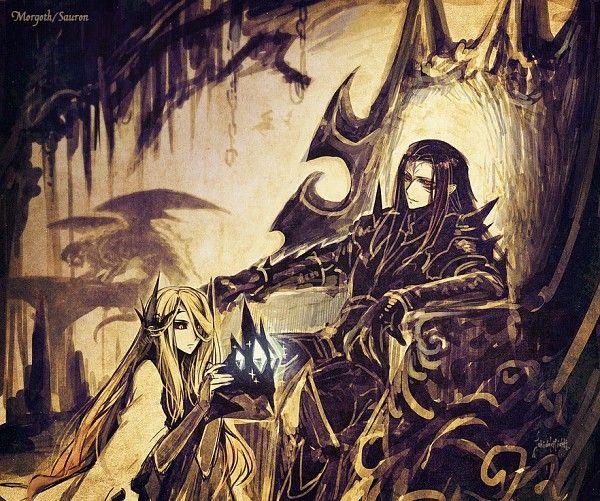 Morgoth And Sauron