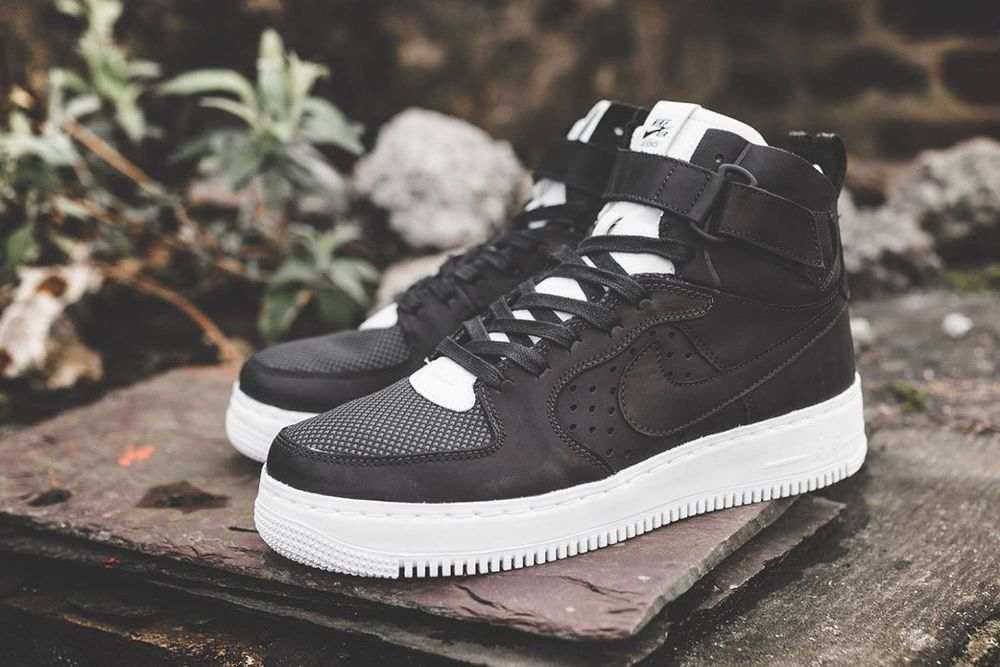 eb62fb0eb NIKE AIR FORCE 1 HI CMFT TC SP BLACK   WHITE LIMITED EDITION SNEAKERS ALL  SIZES