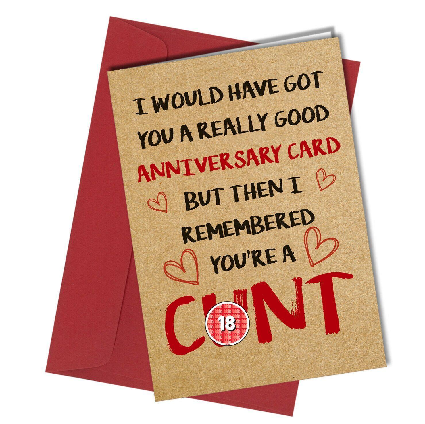 Cunt - #1268 Anniversary