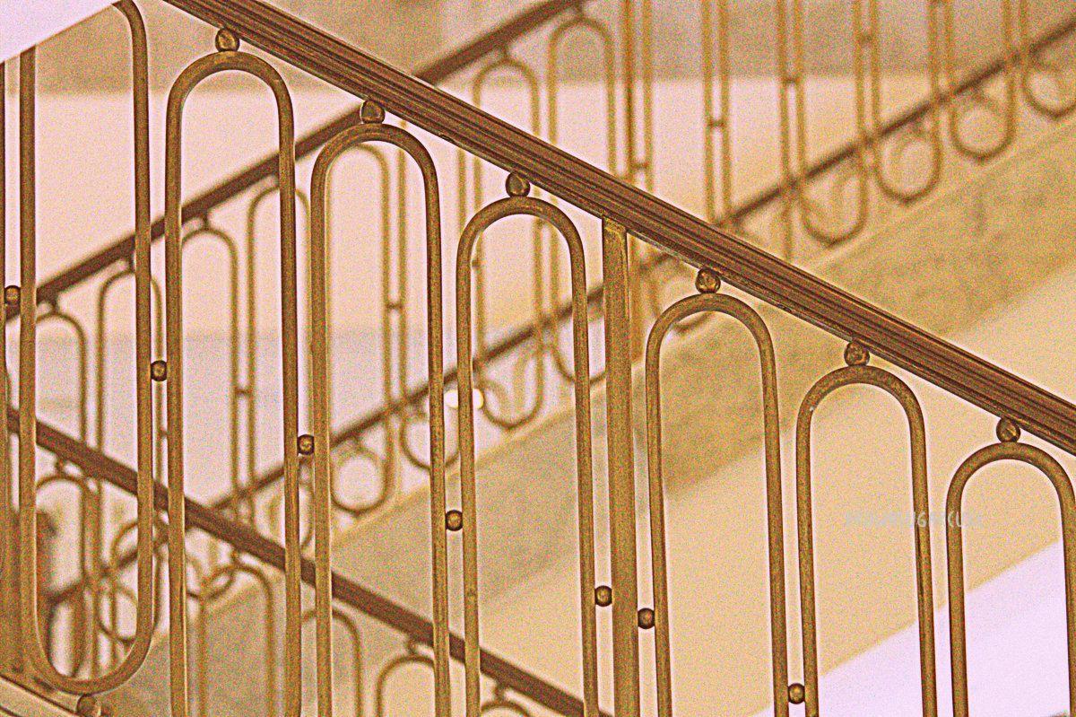 Art Deco Stairway Photography Nostalgia Romantic Interior