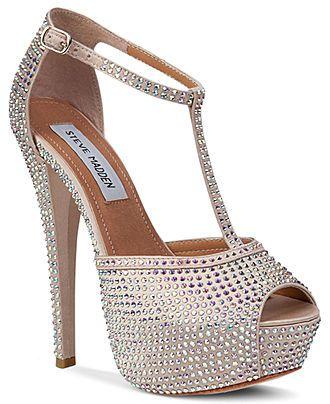 Steve Madden Women S Shoes Angelina Platform Sandals Evening Bridal Shoes Macy S Bridal Shoes Women Shoes Wedding Shoes