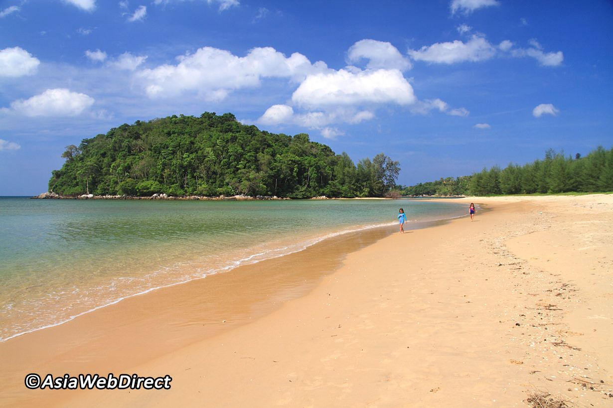 Layan Beach Is The Name Of The Northern End Of Bangtao Beach On The West Coast Of Phuket Unlike The Majority Of Phuket S Beaches In Phuket Beach Island Beach