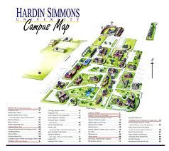 simmons college campus map Hsu Hardin Simmons Campus May Google Image Result For simmons college campus map