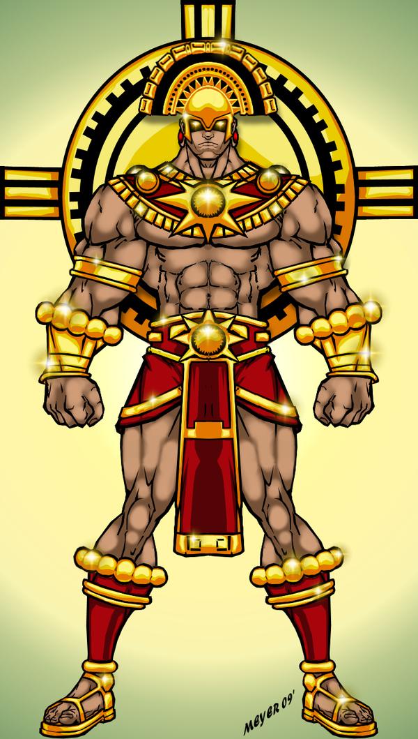 Inti Sun God Preview By Skywarp 2 Aztec Warrior Tribal Warrior Aztec Art