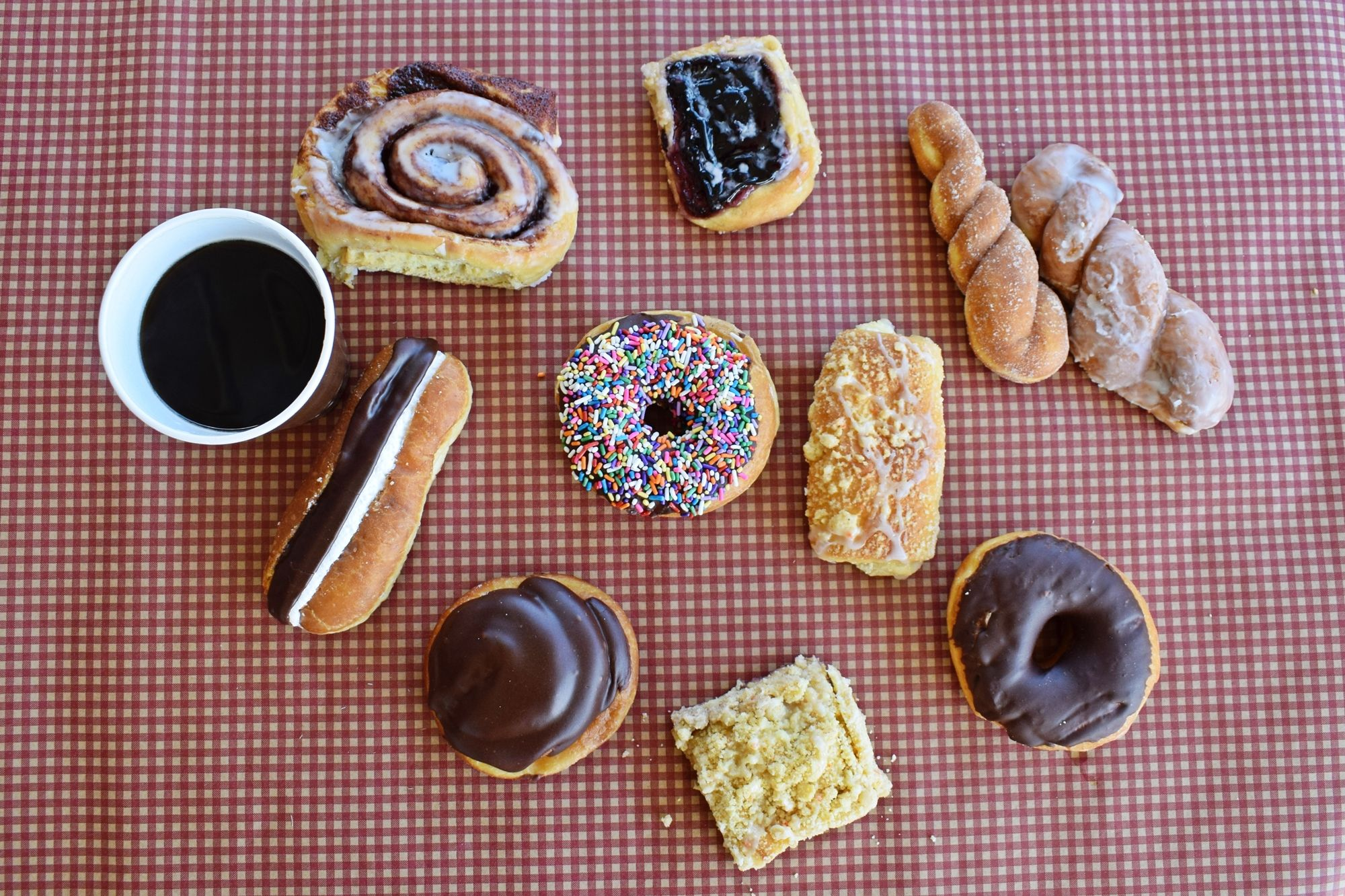 Donut Time Crumbs Galore in Rosedale, MD Also Coffee