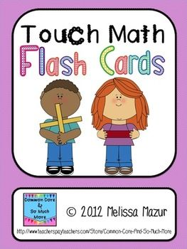touch math flash cards addition and subtraction flashcards ideas resources touch math. Black Bedroom Furniture Sets. Home Design Ideas