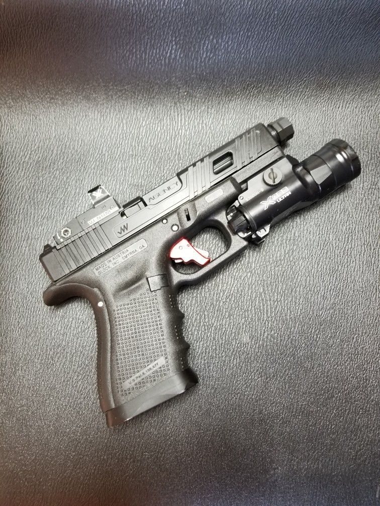Glock 19 - Jagerwerks Wolverine cut graphite black, threaded
