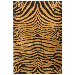 You'll love the Hooked Brown/Black Area Rug at Wayfair - Great Deals on all Décor  products with Free Shipping on most stuff, even the big stuff.
