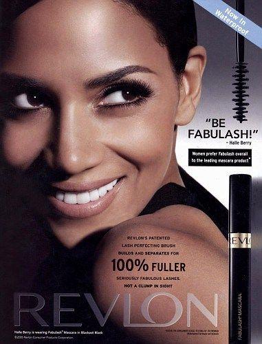 Halle Berry Revlon Mascara Ad   Beauty_ADV   Pinterest   Revlon ...