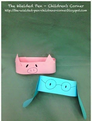 Easy Mo Willemsu0027 Elephant \ Piggie headband craft Mo Willems - new mo willems coloring pages elephant and piggie