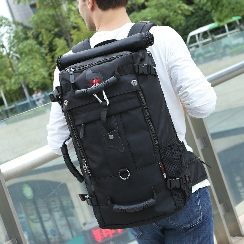 080f037359ff Amazon.com  KAKA Travel Backpack Hiking Bag Camping Bag Weekend Bag Travel  Bag Laptop Bag Computer Bag Briefcase Gym Bag Sports Bag School Bag  Shoulder Bag ...