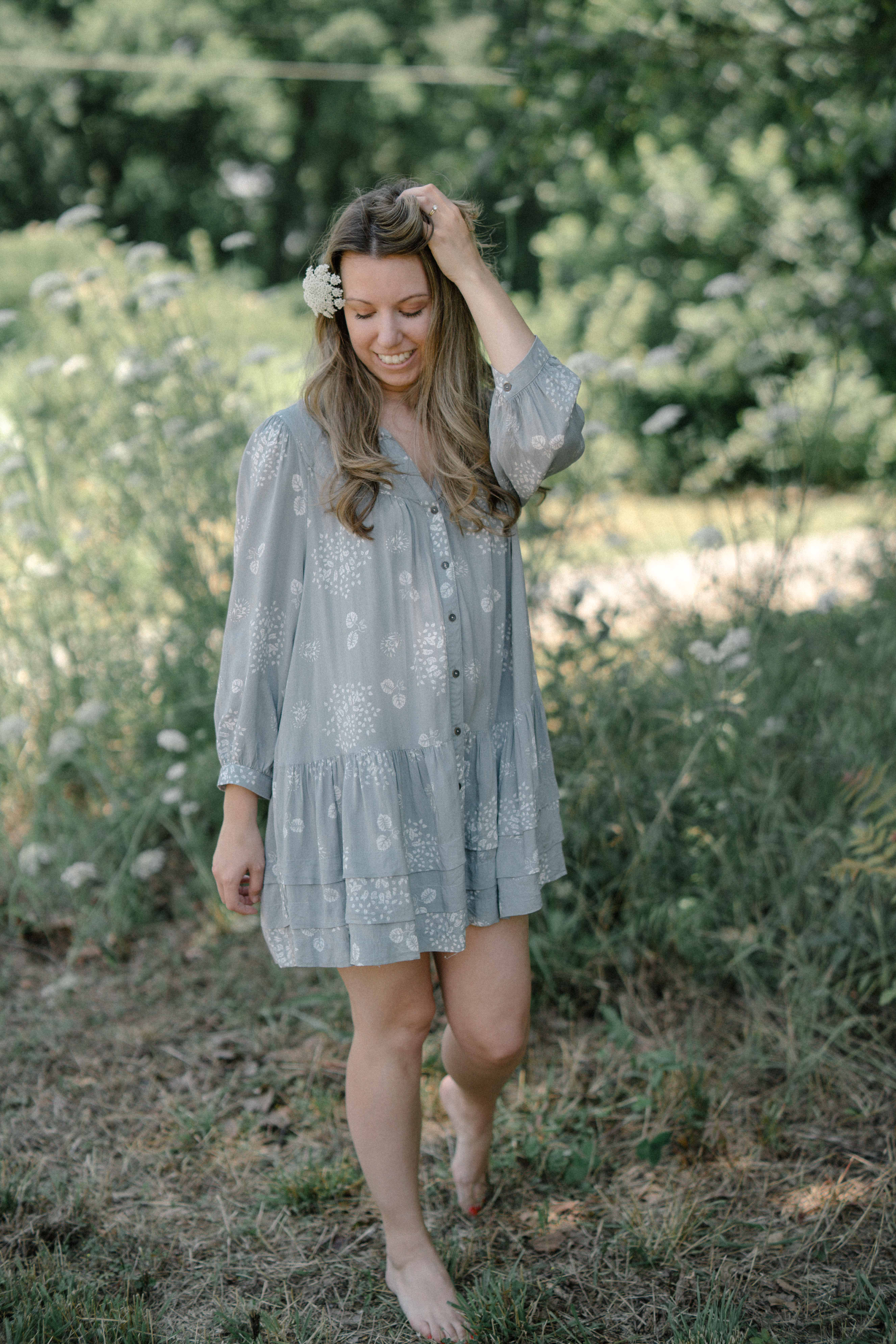 Fashion style Summer cute dresses with sleeves for girls