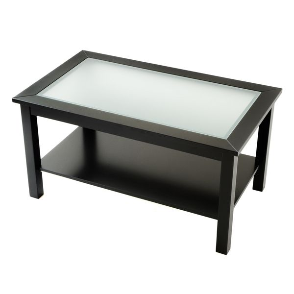 Nice Bianco Collection Black Glass Top Coffee Table   Overstock™ Shopping    Great Deals On Coffee