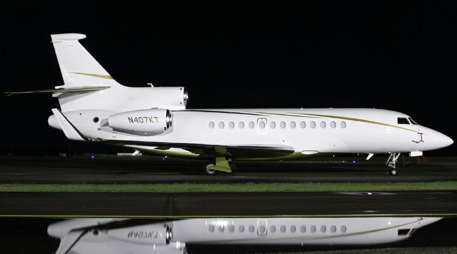 Alexandre Grendene private jet N407KT