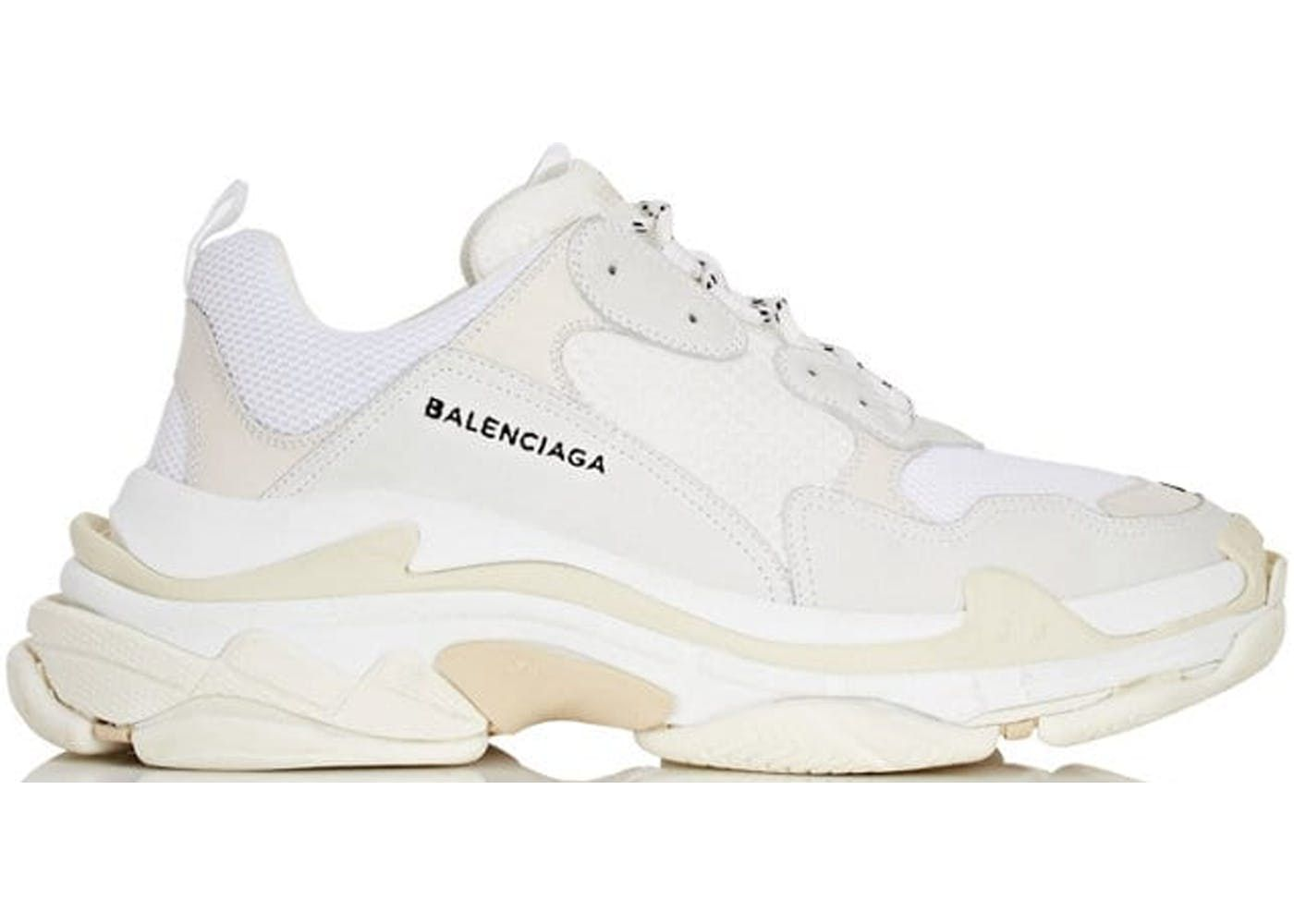 Balenciaga Triple S White Black Red StockX