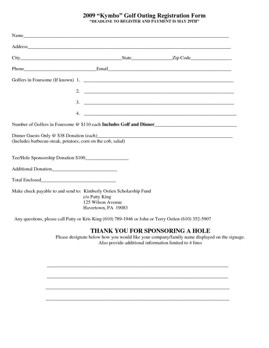 Registration form Template Microsoft Word Inspirational 5