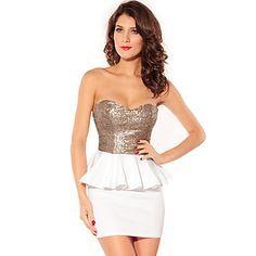 Vestidos cortos para una fiesta de gala