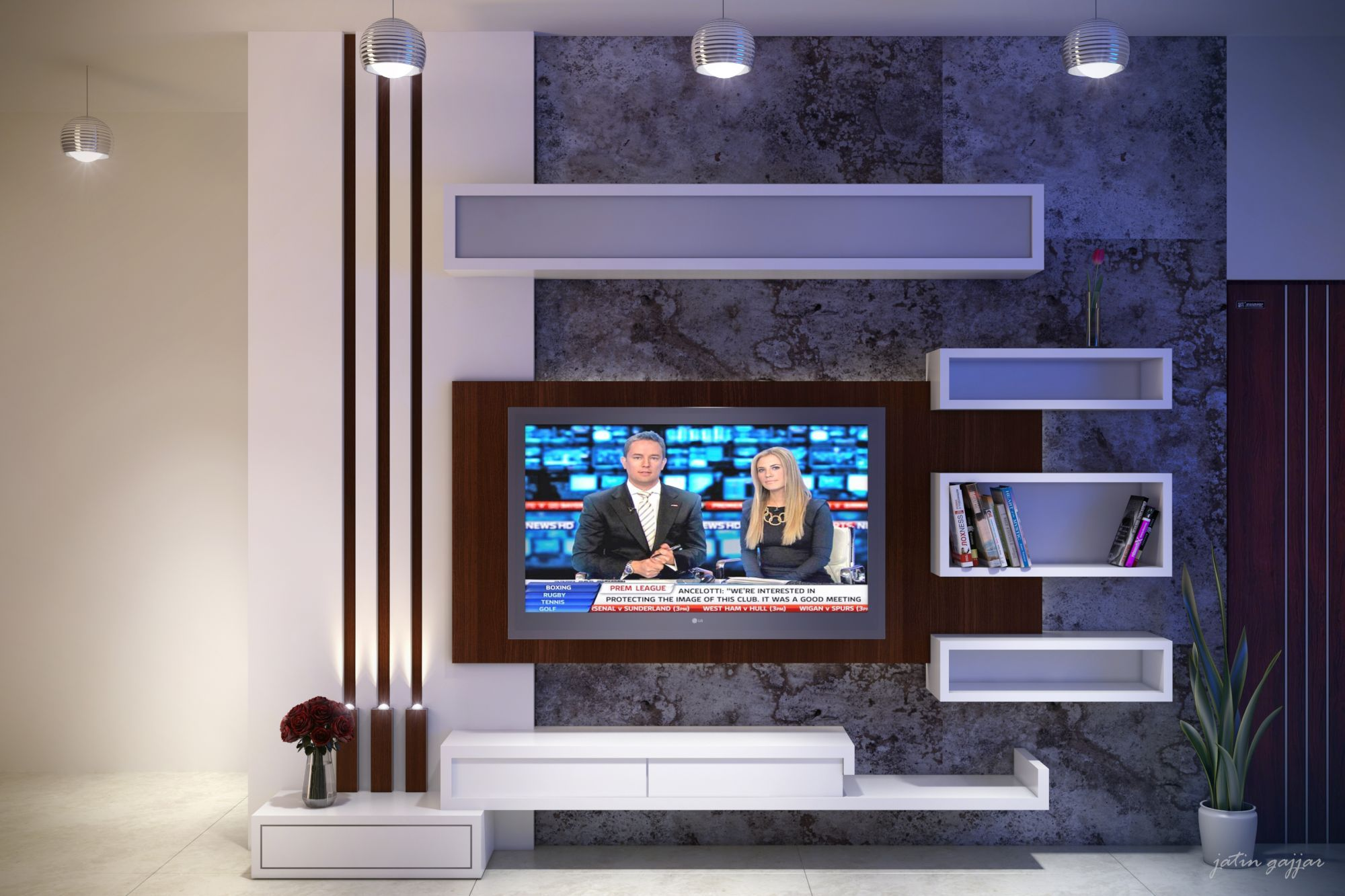 Image Result For Tv Unit Design Modern Tv Wall Units Tv Stand Designs Tv Wall Design