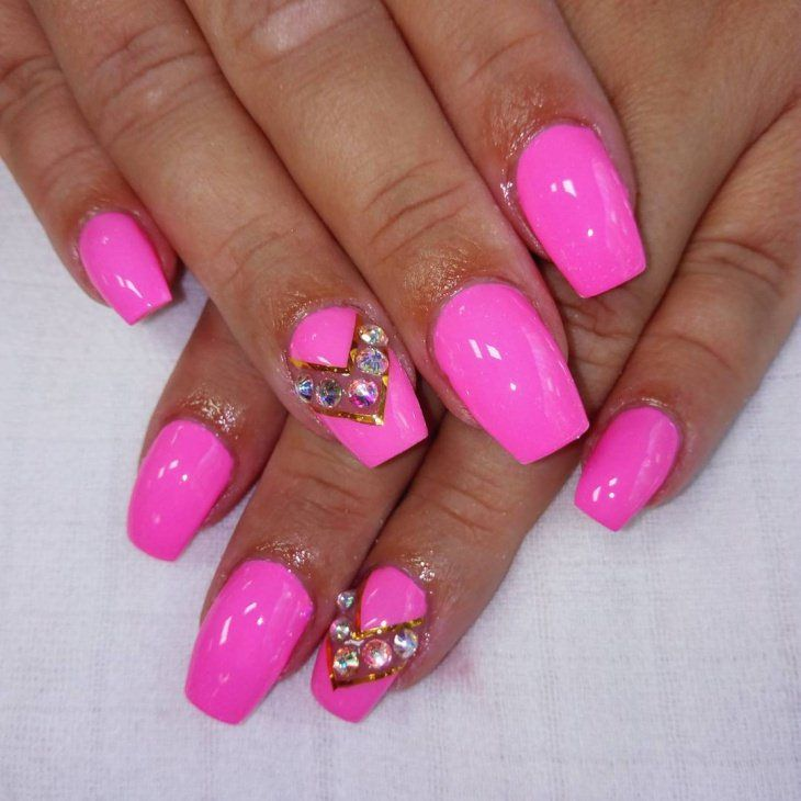 Cute Pink Nail Design 2018 new You can do these designs on your own ...