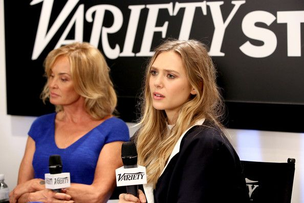 Jessica Lange  w/ELizabeth Olsen- Variety Studio At Holt Renfrew - Day 1 - 2013 Toronto International Film Festival