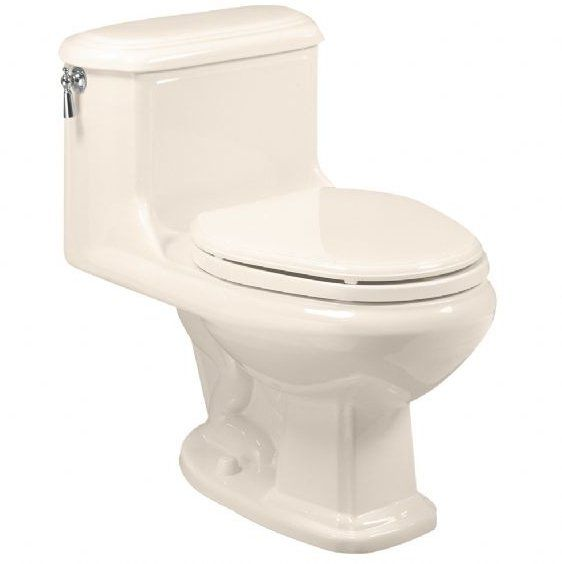 View the American Standard 2038.016 Antiquity One-Piece Elongated Toilet with Chrome-Plated Side Mounted Trip Lever at Build.com.
