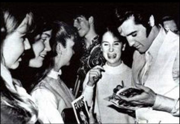 The Trouble With Girls Elvis et les fans sur le tournage du film