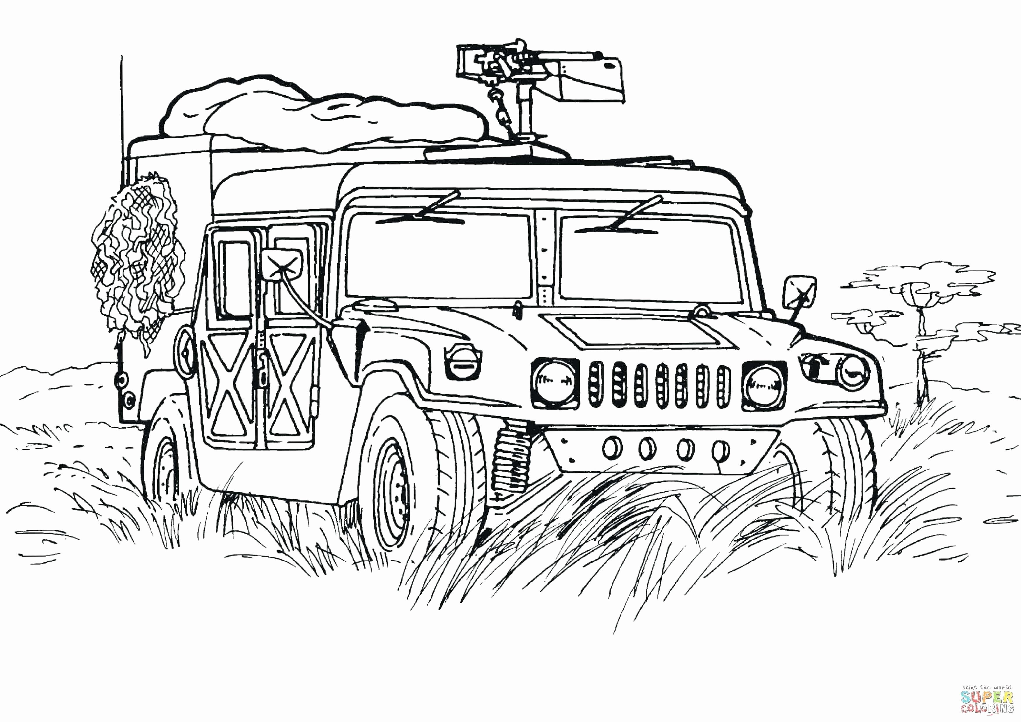 Free Coloring Pages Military Vehicles Elegant Printable Coloring Pages Army Tanks Outpo Monster Truck Coloring Pages Cars Coloring Pages Truck Coloring Pages