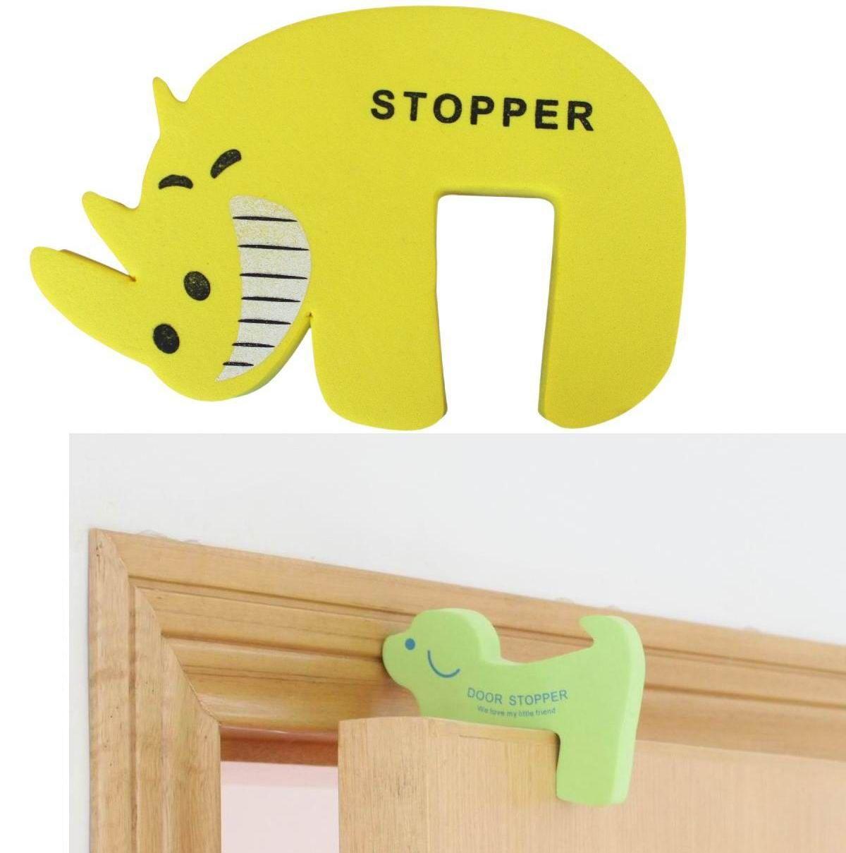 Hippo cartoon door stopper little puppy door stop to