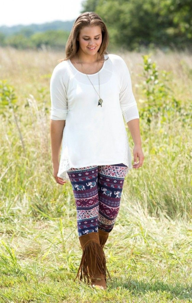 Popular Plus Size Leggings for Women | Outfits | Pinterest | Cute ...