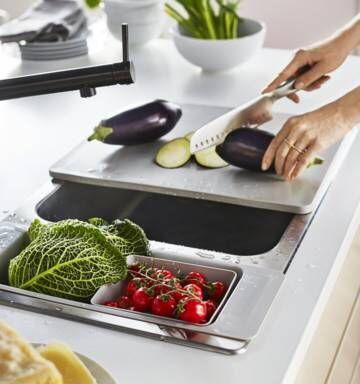 IKEA Katalog 2017 Küche Doris Pinterest Small sink, Galley - küchen ikea katalog