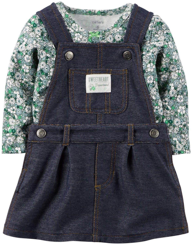 a8f6ea94da94 Amazon.com  Carter s Baby Girls  2 Piece Jumper Set (Baby)  Clothing ...