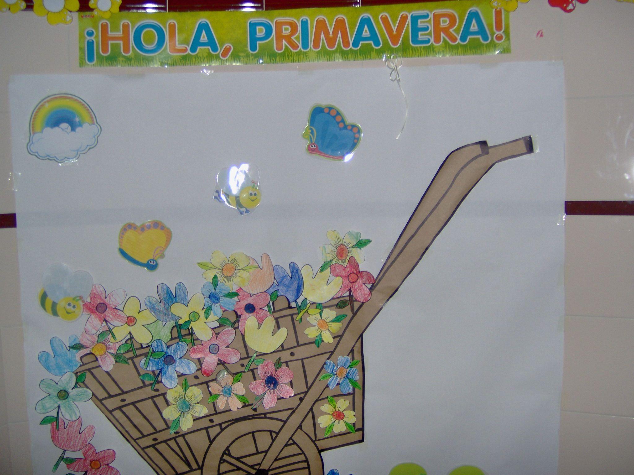 primavera aula infantil - Pesquisa Google | murais | Pinterest