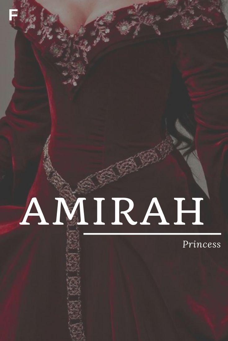 Amirah, bedeutet Prinzessin, arabische Namen, Vornamen eines Babys, Vornamen eines Babys, wei #babygirlnames