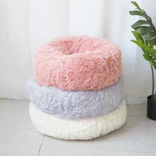 Marshmallow Cat Bed [HOT Selling!] Cat bed, Donut cat