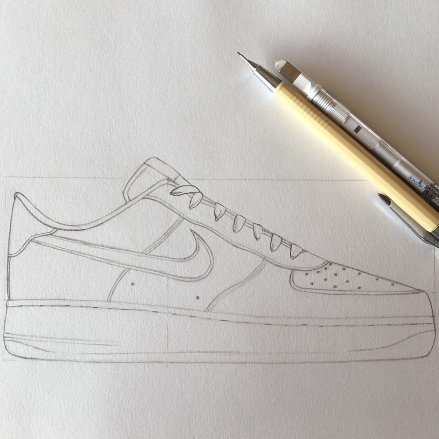 shoes Nike Air Force 1 07 @nike (Pas fini) crayon
