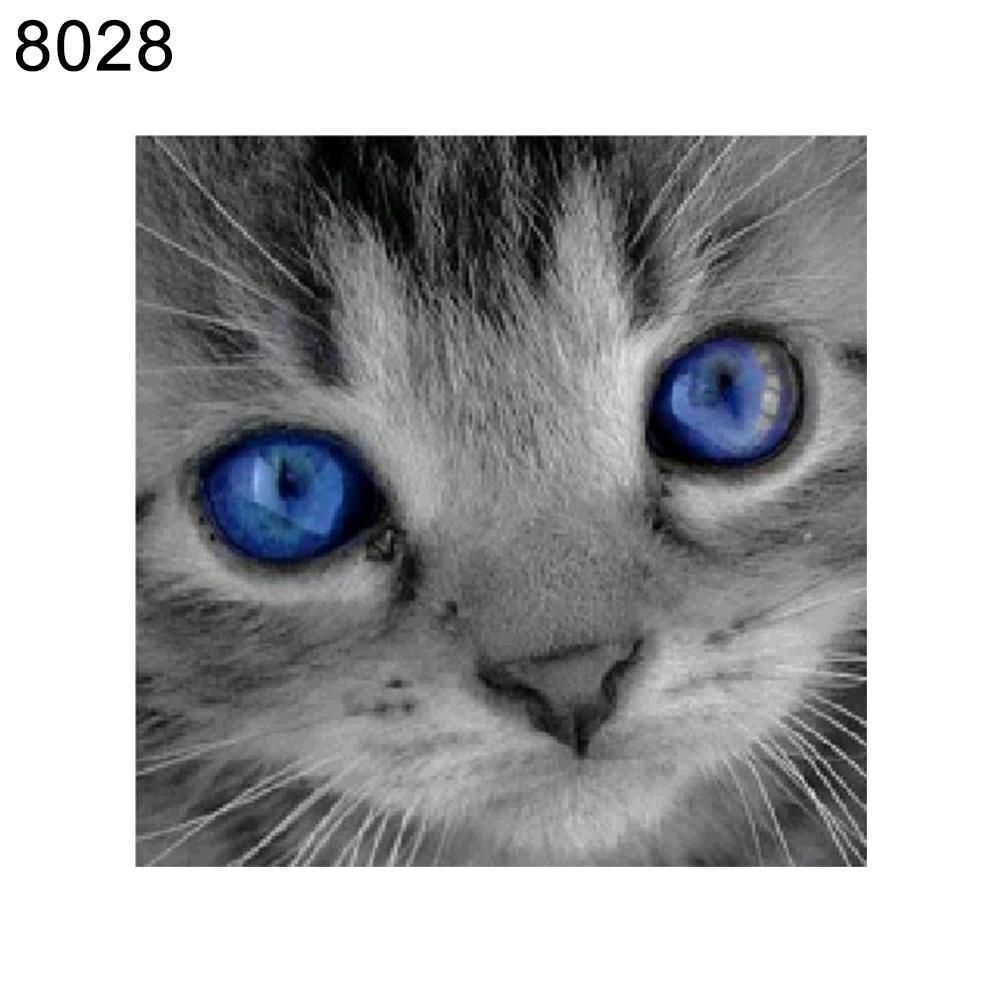 Photo of Cute Cat Pattern Frameless Diamond Painting DIY Cross Stitch Home Wall Decor – as the picture d